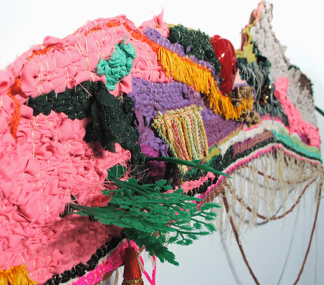 """Andrea Vail """"COLLECTING PILE (Horizon 2 / 3)"""""""