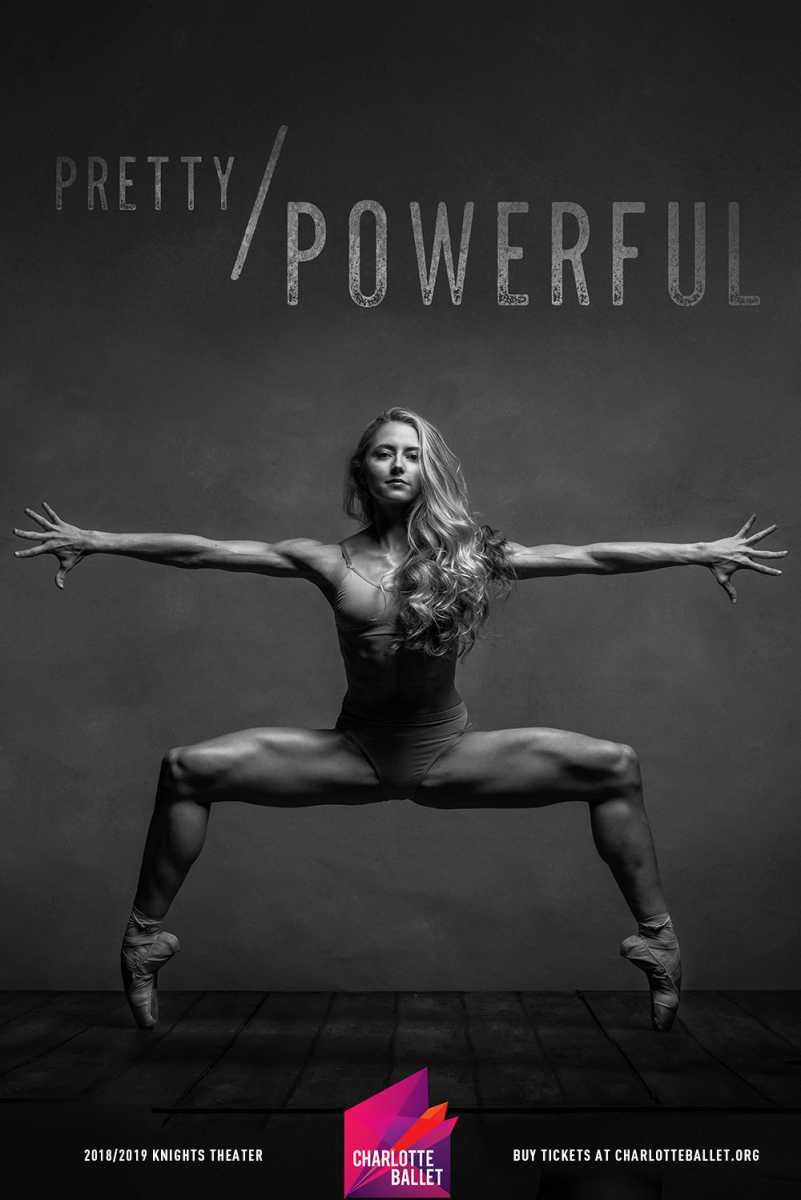 Pretty / Powerful Charlotte Ballet Poster