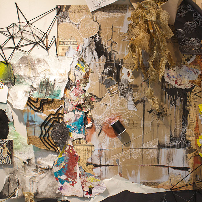 Mixed Media by Sarah Delli Colli