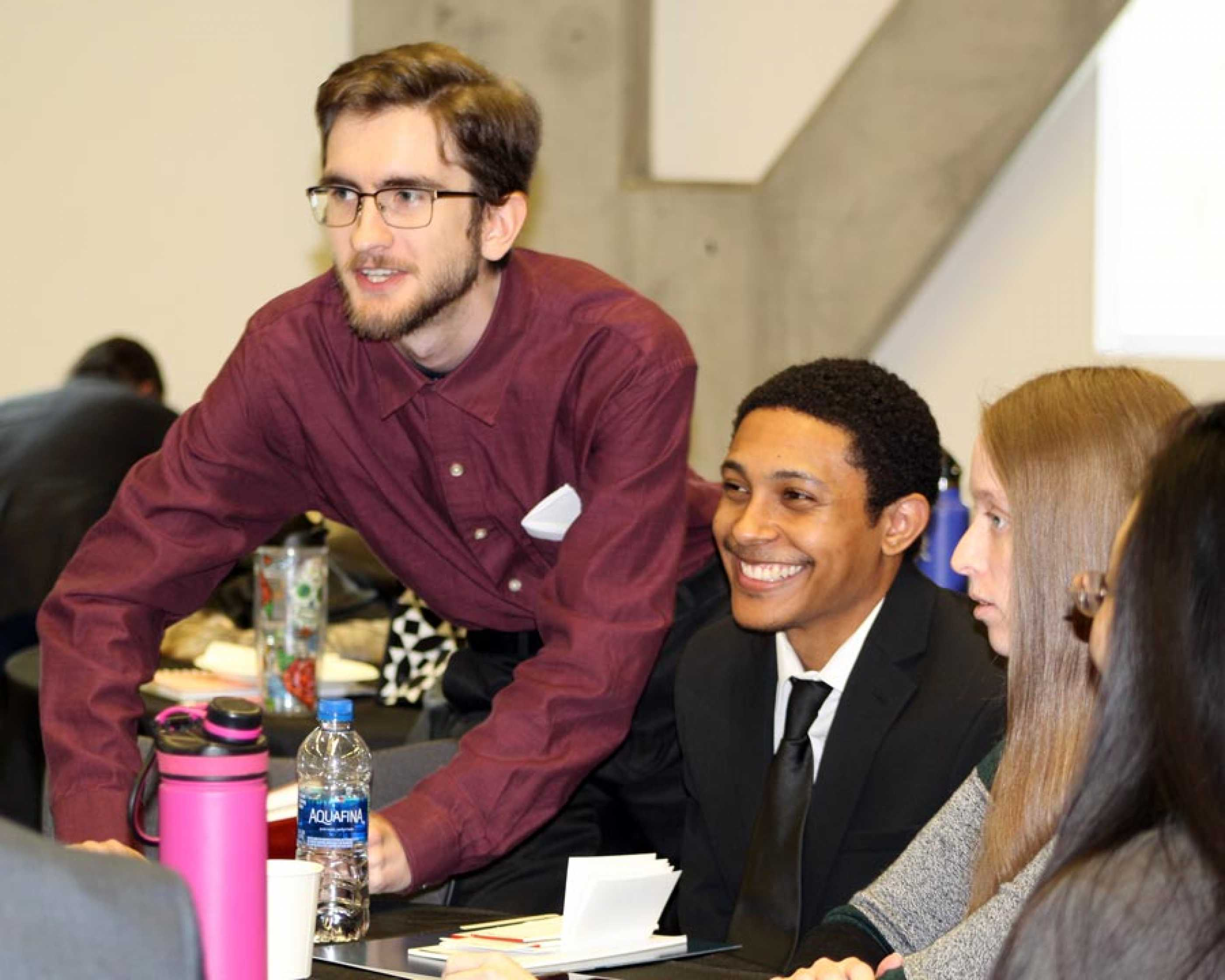 Students at 2019 Career Connections
