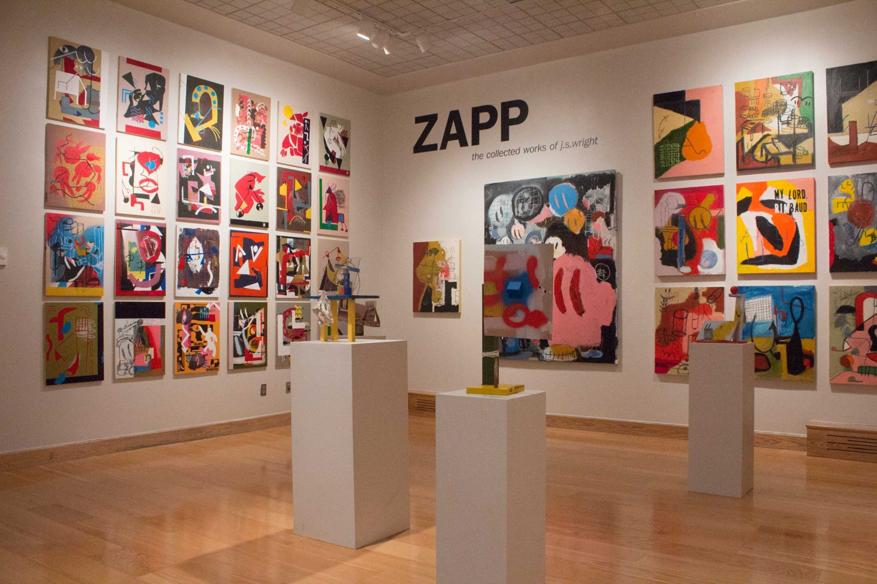 ZAP exhibition at Looking Glass Gallery