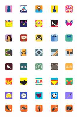 Movie/TV Show stories as App Icons