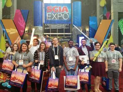GAIT field trip to SGIA Expo 2015