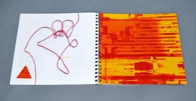 Idea Lab process book designed by Melanie Passajou-Dick