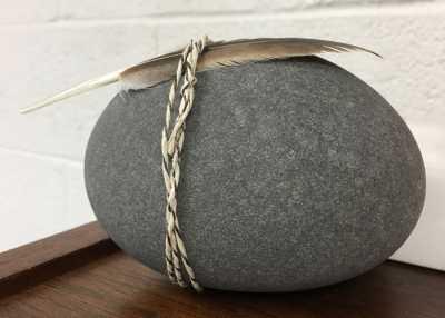 Stone in Hofsess' office