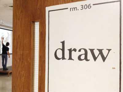 Drawing room door
