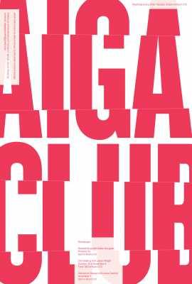 AIGA Events Poster