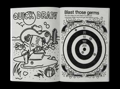 Pages from Social Distancing Activity Book