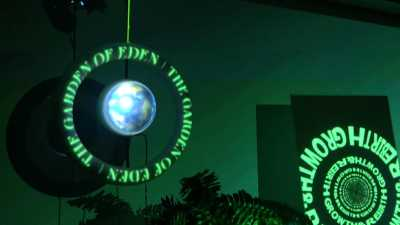 Garden of Eden Projection Mapping