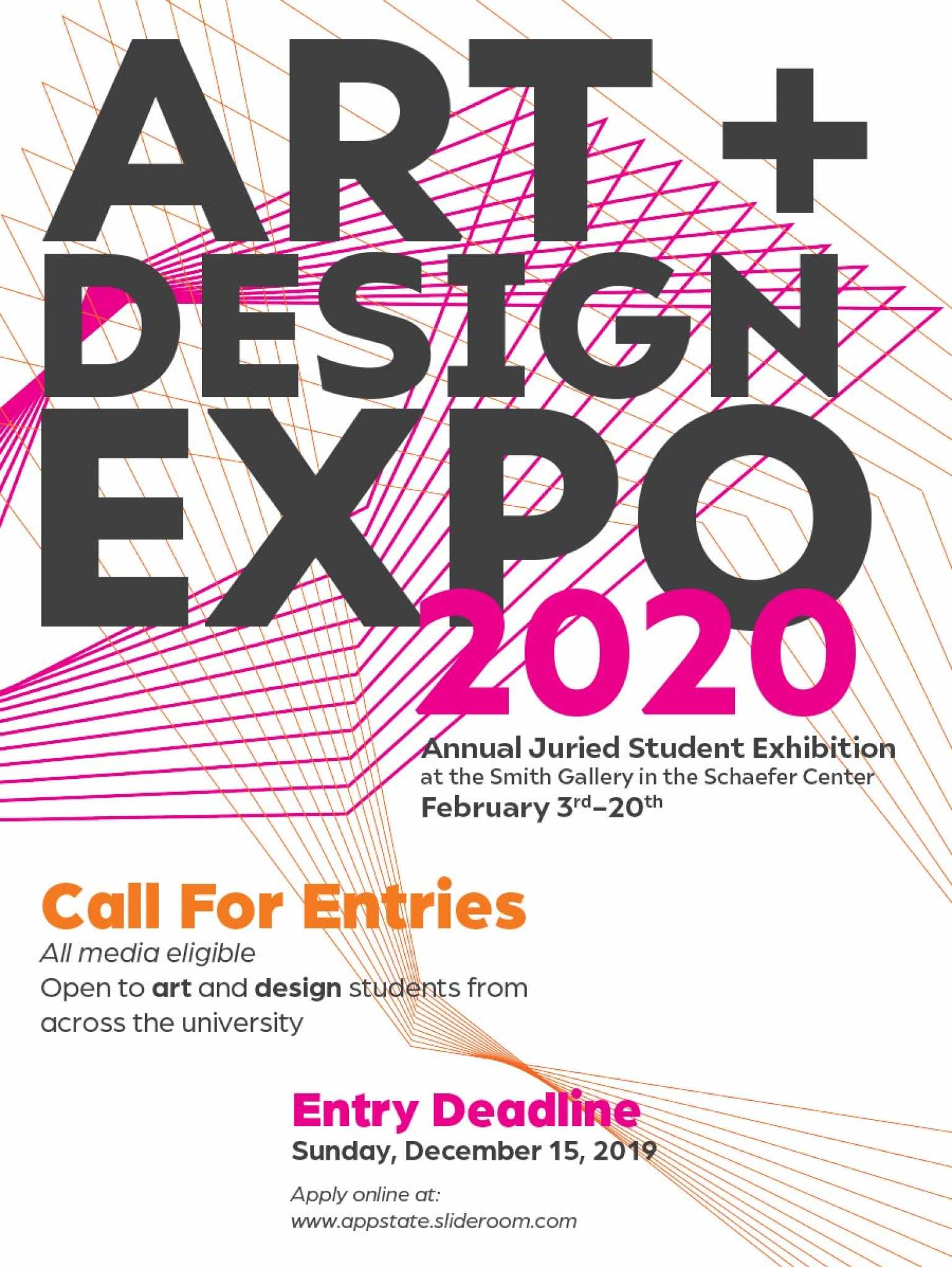 Art and Design Expo 2020 call for entries
