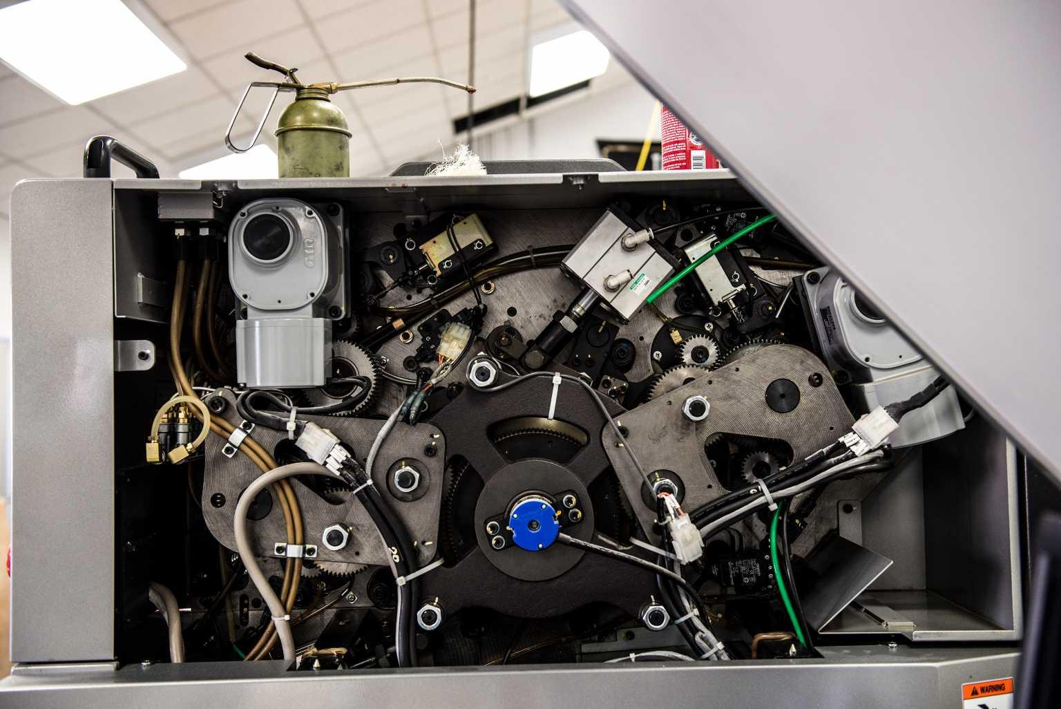 Press interior