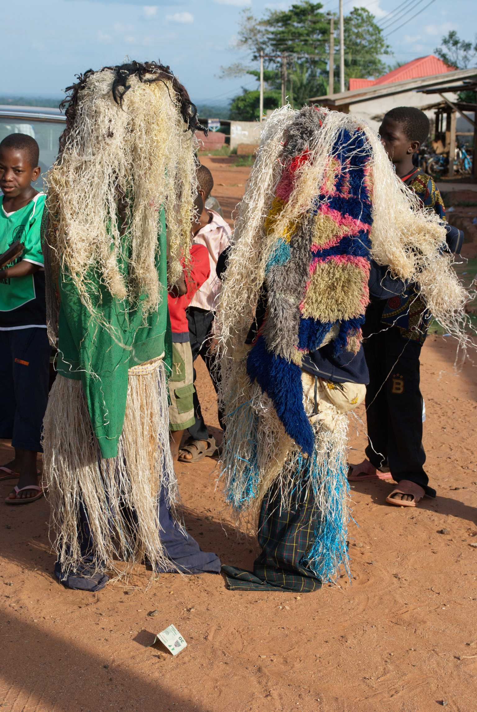 Children Masquerade during Easter celebrations