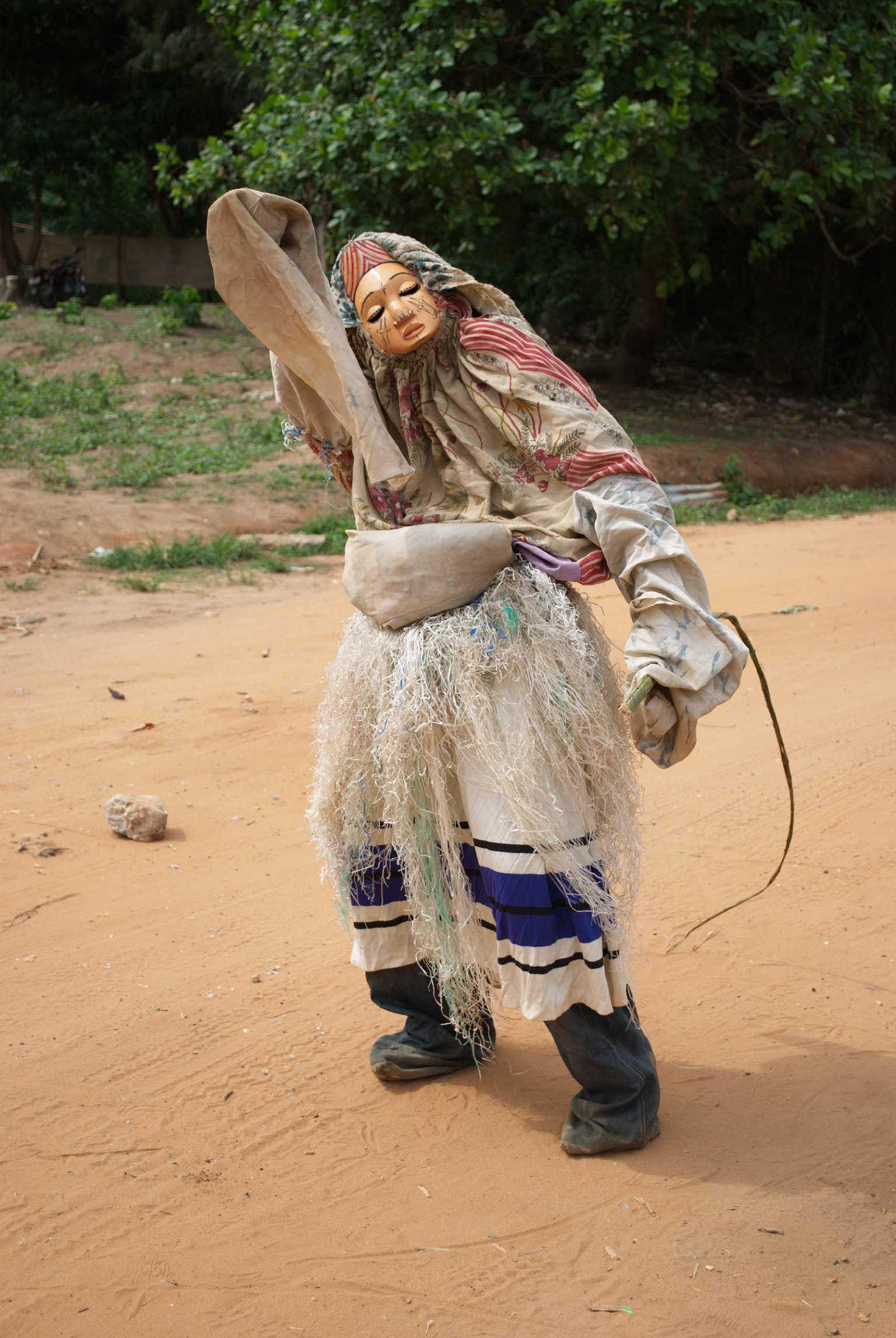 """Baby-Face"" masquerade, Arondizuogu, Imo-State, 2009"