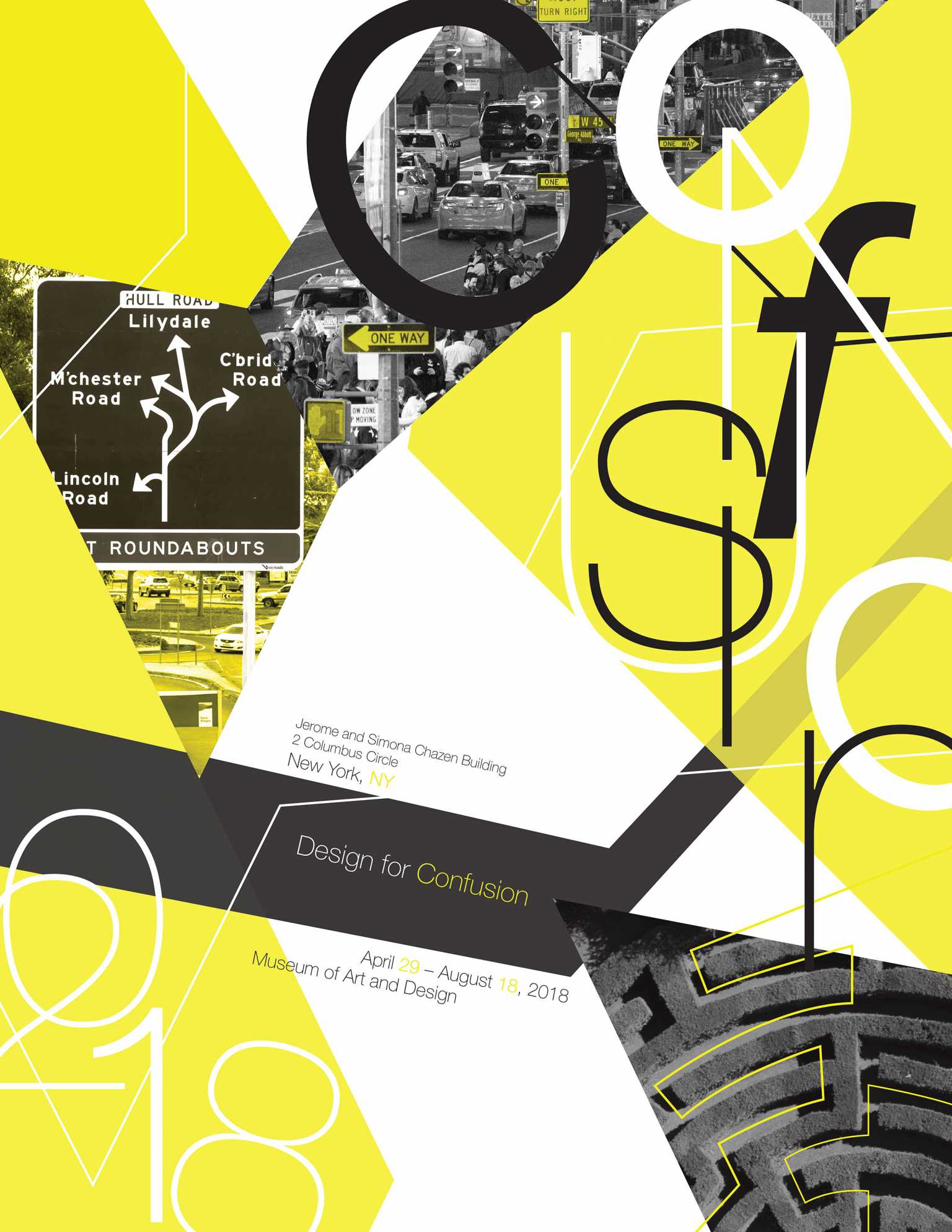 Design for Confusion Poster
