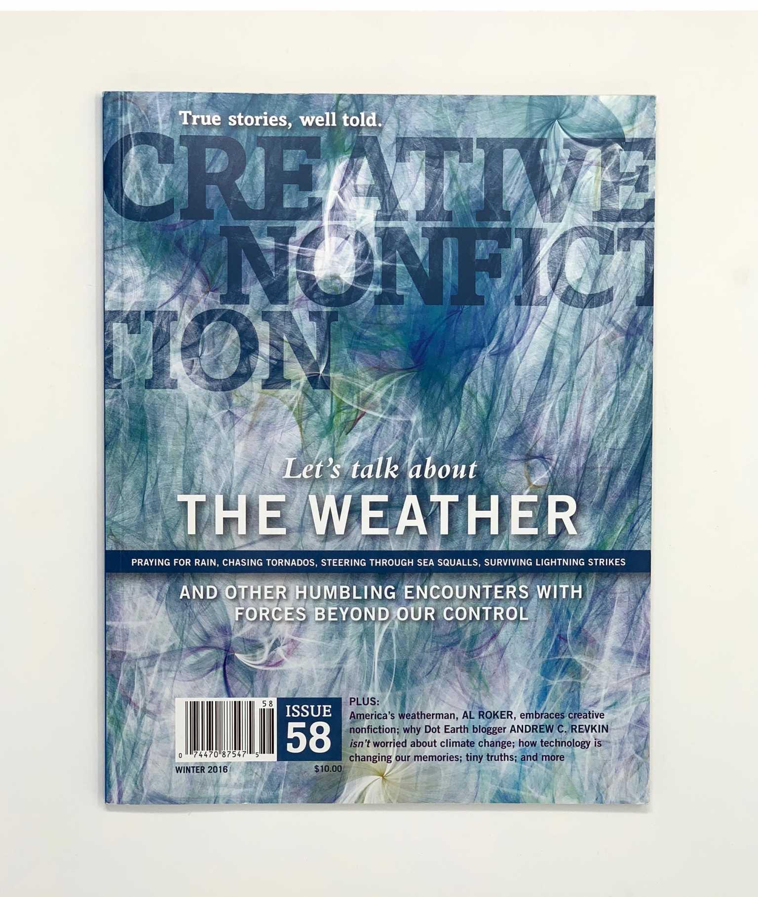 Cover of Creative Nonfiction magazine
