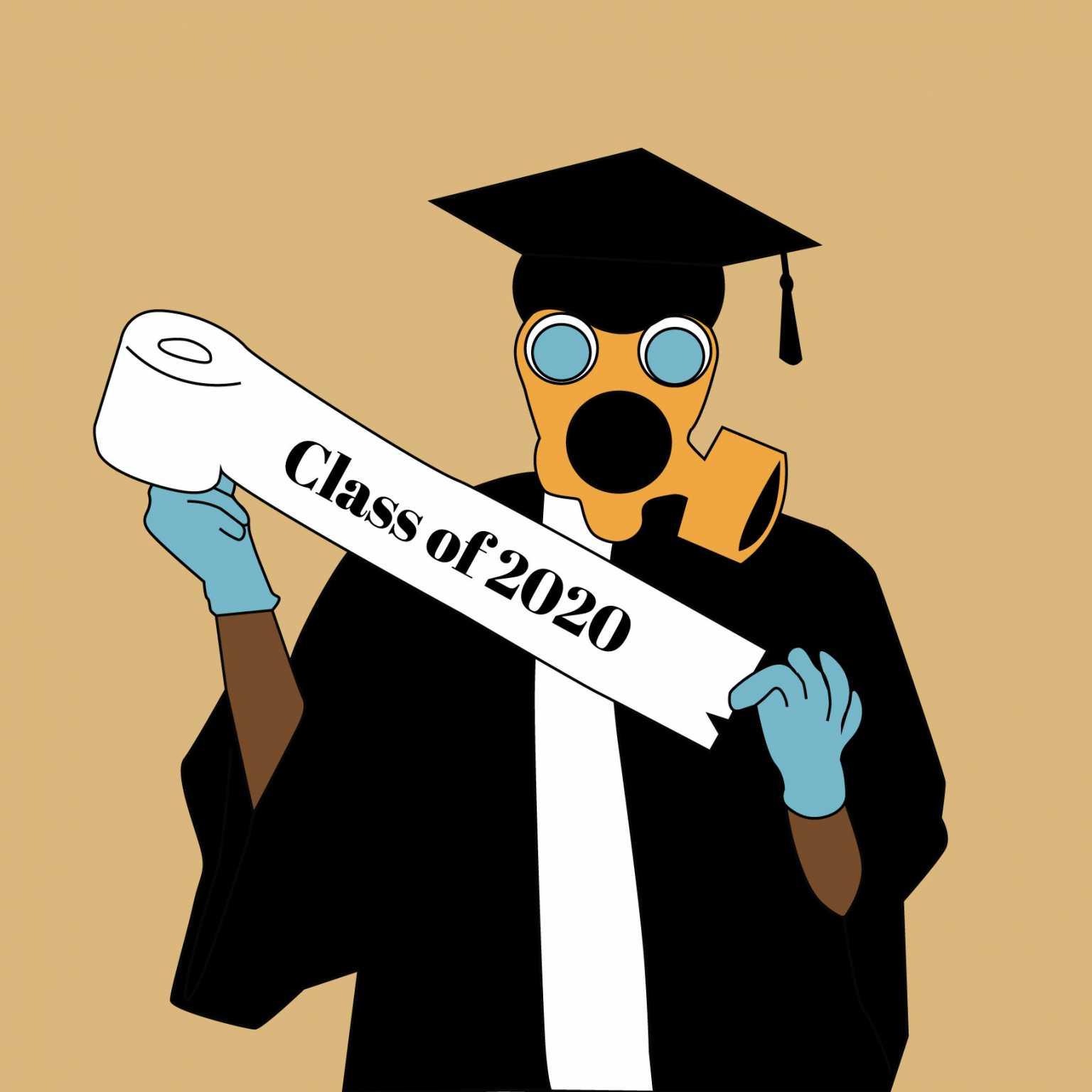 Quarantine Graduation Announcement