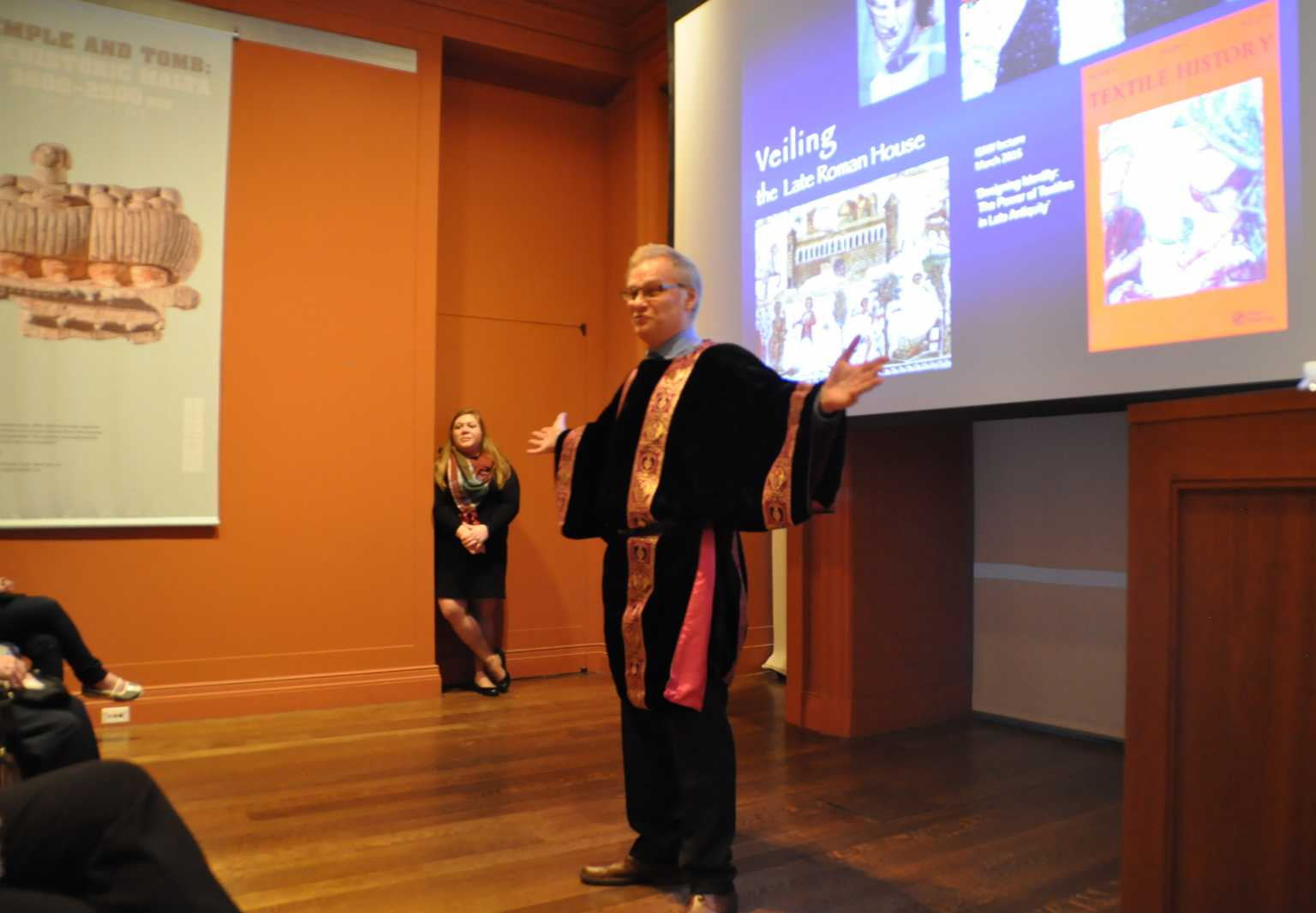 New York Presentation at Institute for Study of the Ancient World