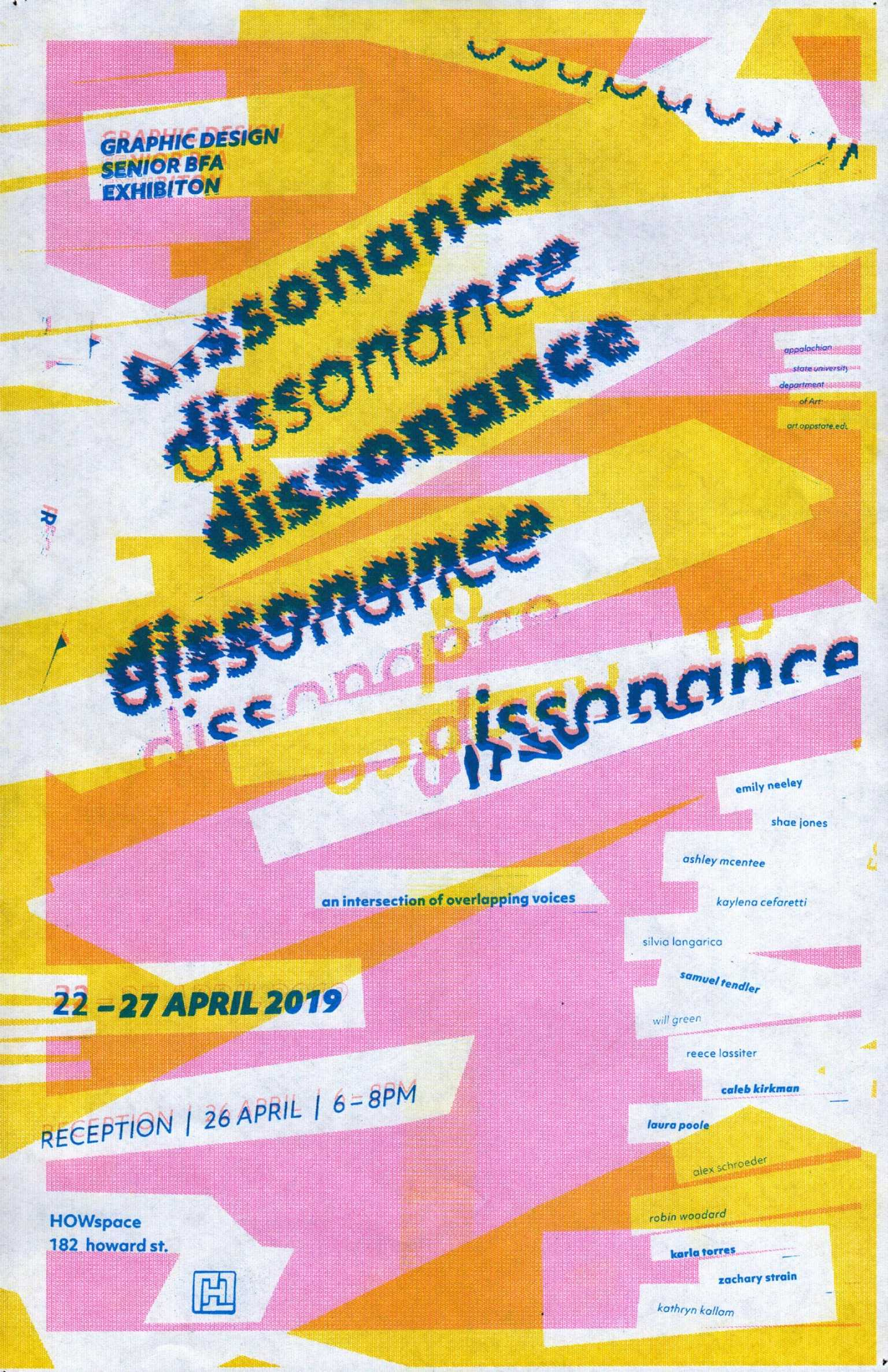 Dissonance poster