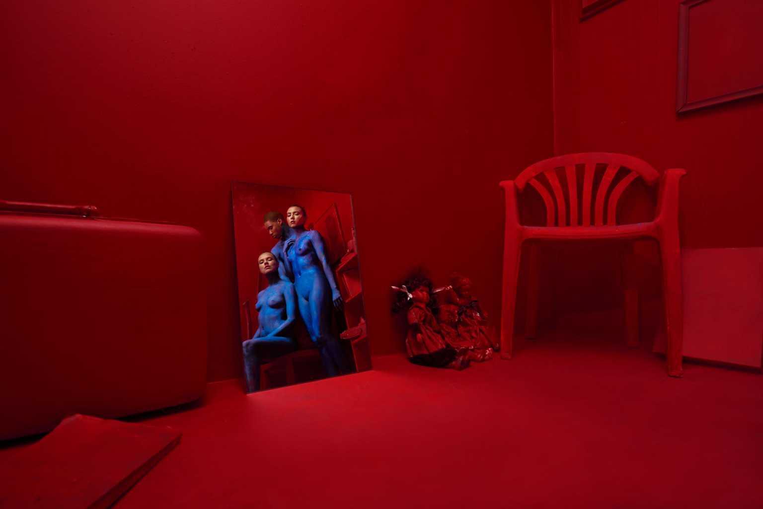 Red Mirror by Zachary Kracht