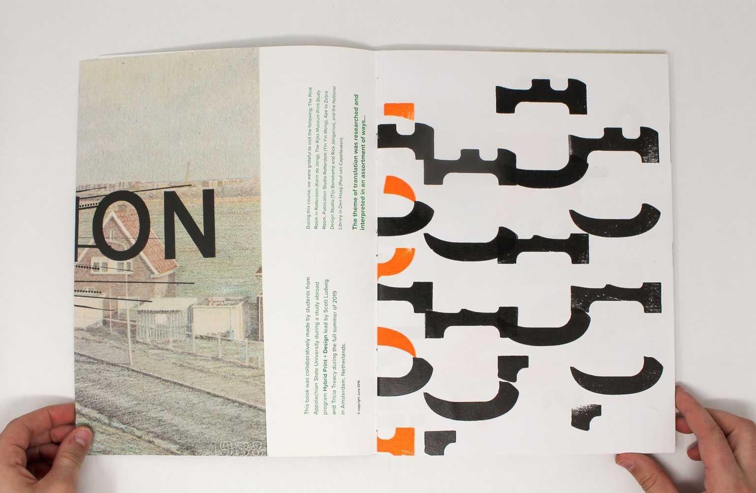 Hybrid Print and Design book