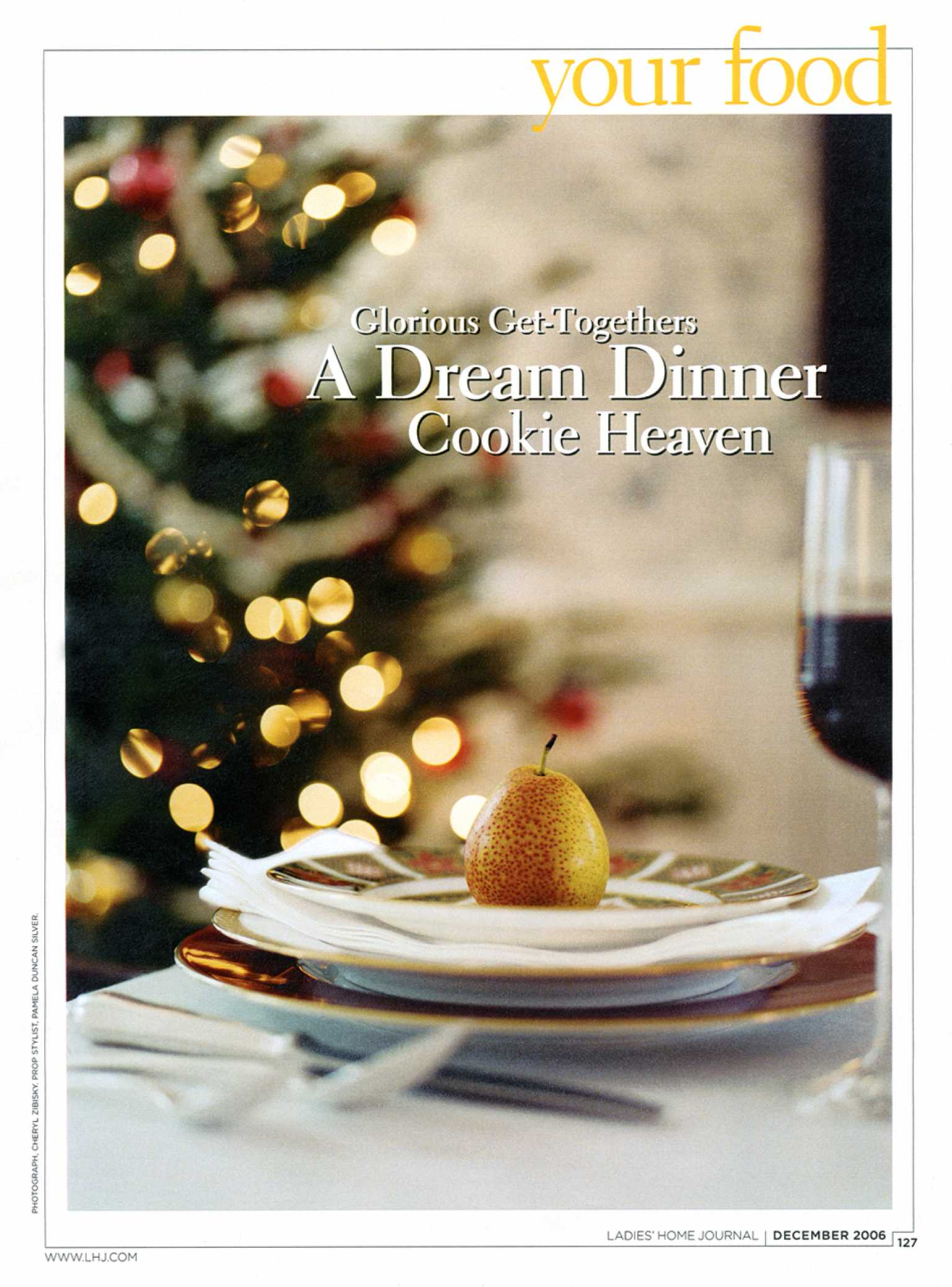 Ladies Home Journal Food Feature