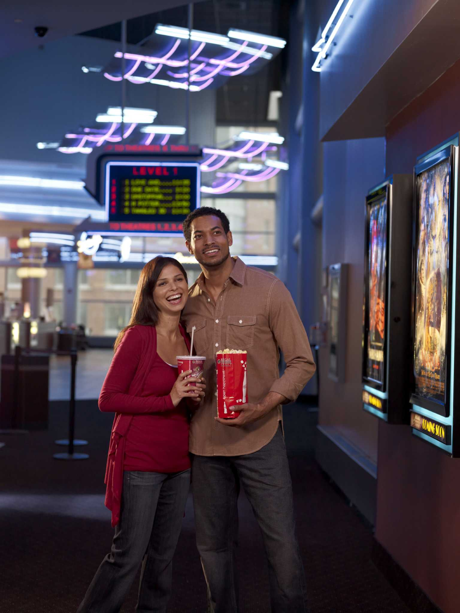 CineMedia Advertising Shoot for AMC