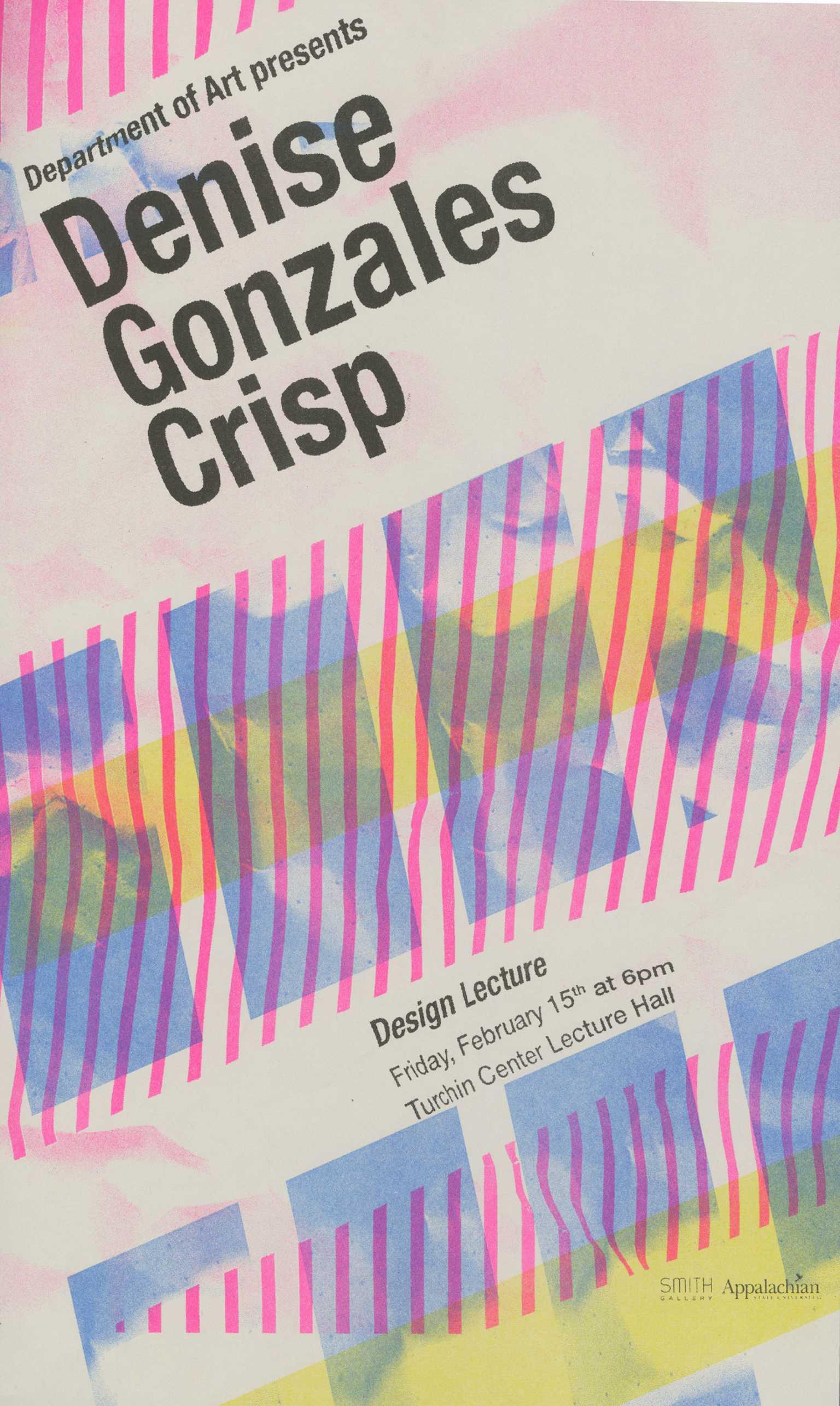Denise Gonzalez Crisp poster