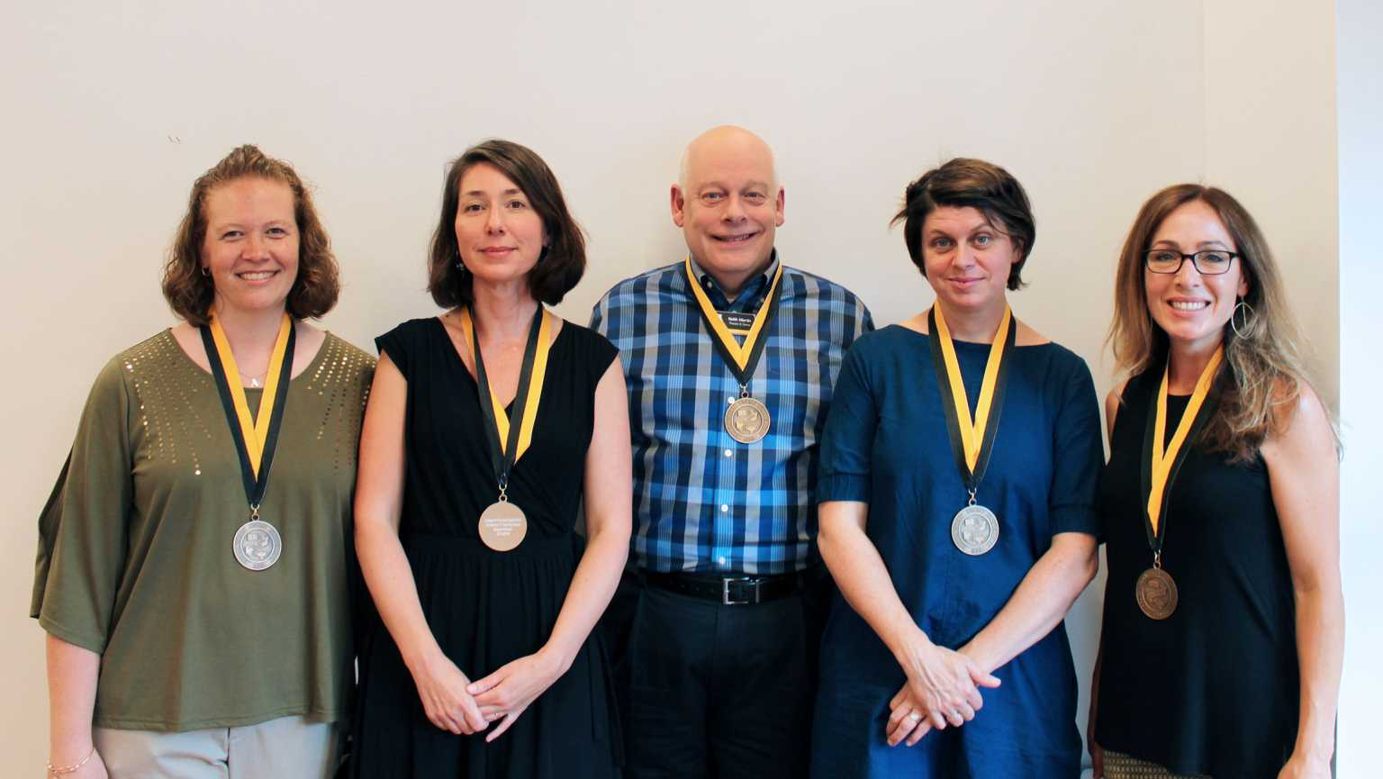 College of Fine and Applied Arts award winners