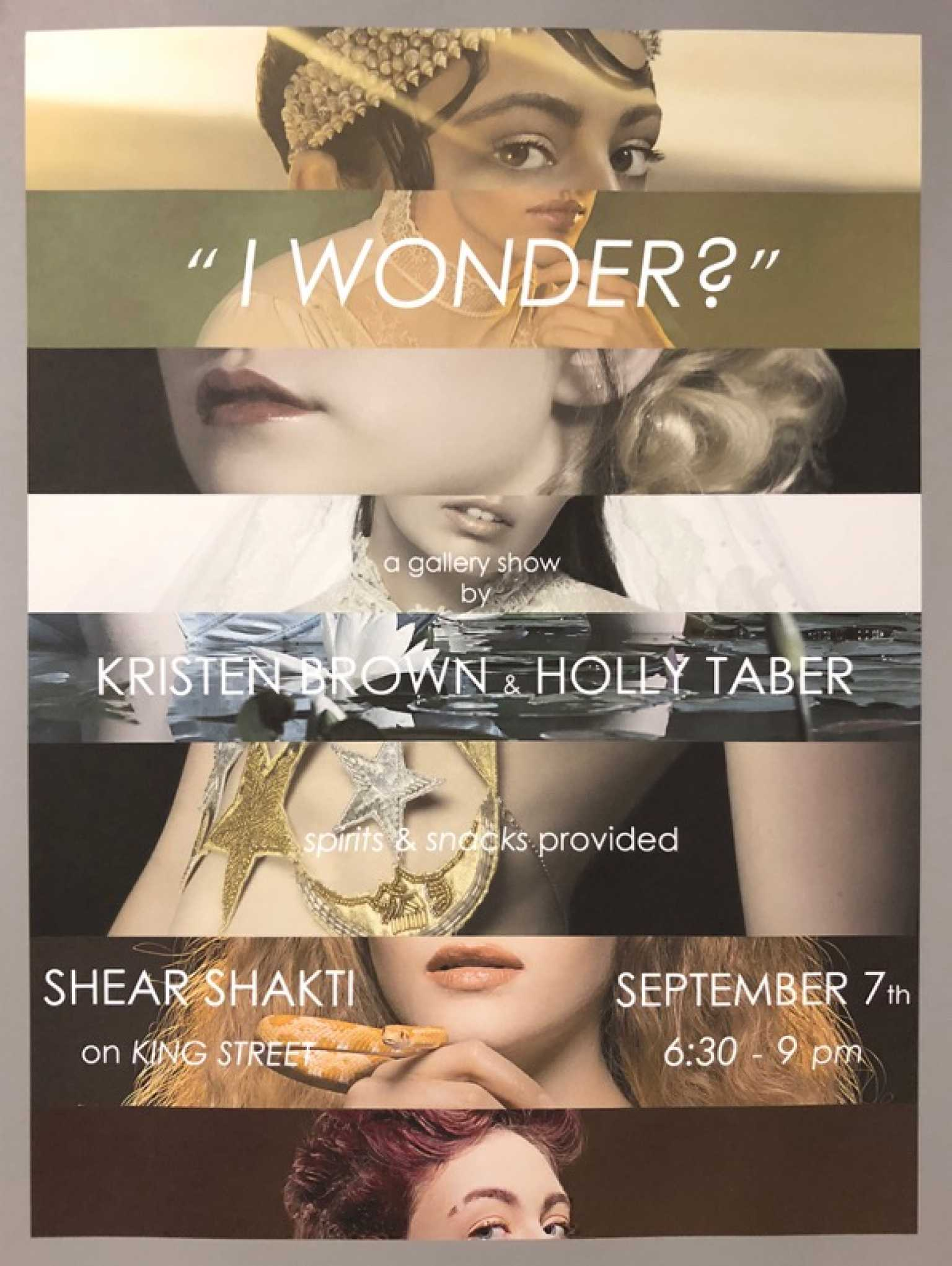 I wonder? poster