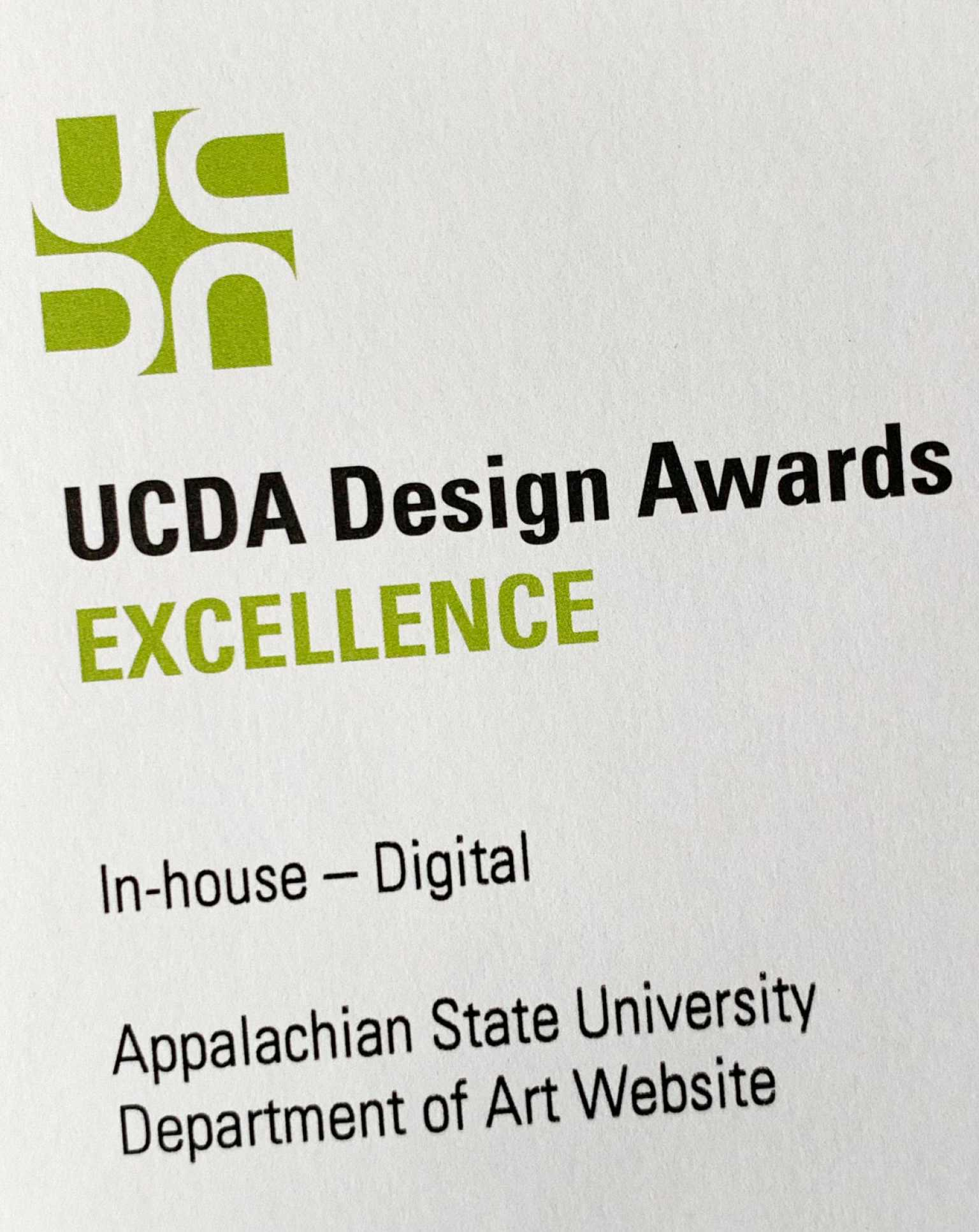 Website award certificate
