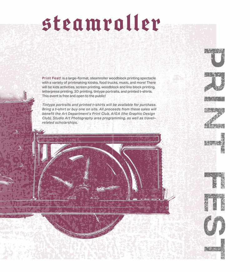 Steamroller Print Fest