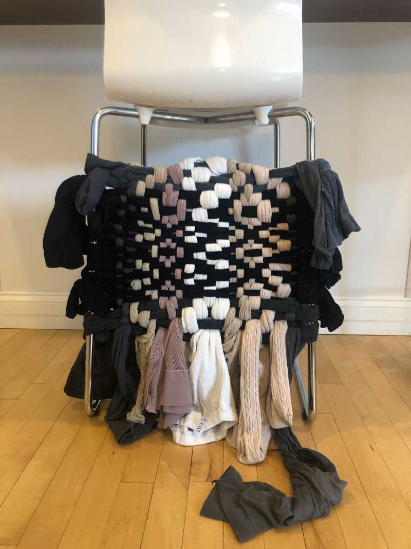 Tights weaving by Jeana Klein