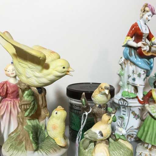 Hummel figurines in studio