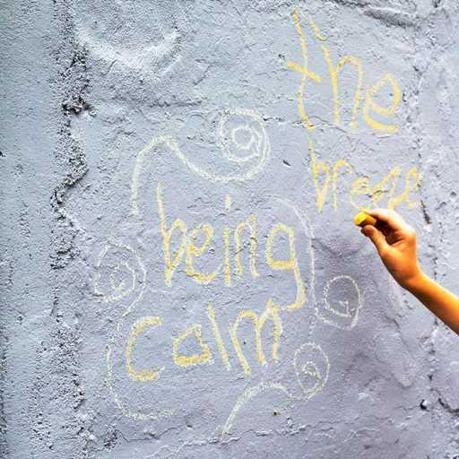 ecologies of girlhood chalk art